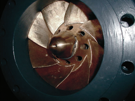 In-line hydraulic turbine