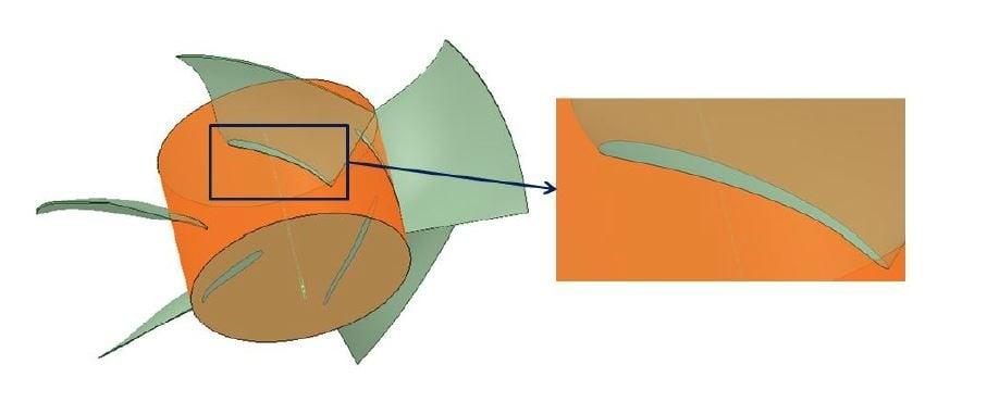 3D-solid-blade-geometry-axial-fan