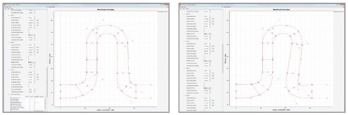 M4 Generic Method for Meridional Geometry Parameterization