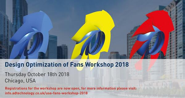 Design Optimization of Fans Workshop 2018