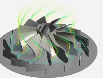 3D Inverse design blade shape