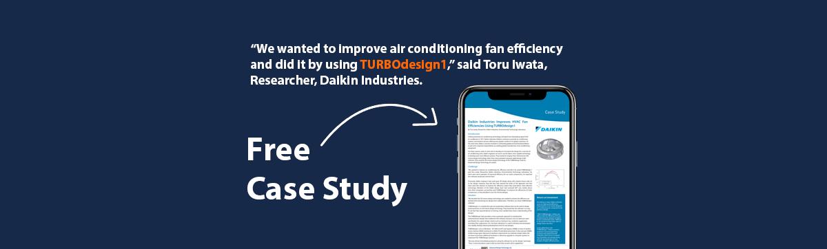 How Daikin Industries Improved HVAC Fan Efficiencies Using TURBOdesign1?